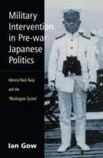 Military Intervention in Pre-War Japanese Politics