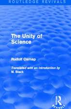 The Unity of Science (Routledge Revivals)
