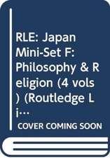 Rle:  Philosophy & Religion (4 Vols)