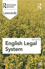 English Legal System:  Readings and Cases in a Global Context