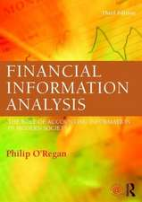 Financial Information Analysis