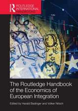 Routledge Handbook of the Economics of European Integration