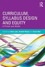 Curriculum, Syllabus Design and Equity