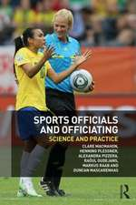 Sports Officials and Officiating
