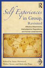 Self Experiences in Group, Revisited:  Affective Attachments, Intersubjective Regulations, and Human Understanding