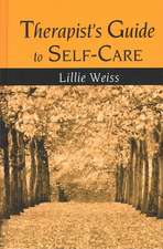Therapist's Guide to Self-Care
