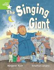 Rigby Star Guided 1 Green Level: The Singing Giant, Story, Pupil Book (single)