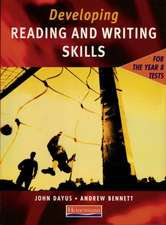Developing Reading & Writing Skills for the Year 8 Tests Student Book
