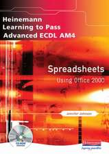 Advanced ECDL AM4 Spreadsheets for Office 2000