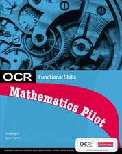 OCR Functional Skills - Maths: Student Book for the OCR Pilot