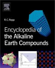 Encyclopedia of the Alkaline Earth Compounds