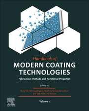 Handbook of Modern Coating Technologies: Fabrication Methods and Functional Properties