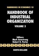 Handbook of Industrial Organization