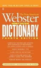 The New American Webster Handy College Dictionary