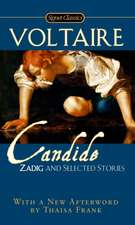 Cadide, Zadig: And Selected Stories