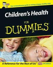 Children′s Health For Dummies