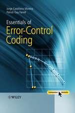 Essentials of Error–Control Coding