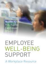 Employee Well–being Support: A Workplace Resource