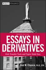 Essays in Derivatives: Risk–Transfer Tools and Topics Made Easy