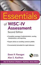 Essentials of WISC–IV Assessment