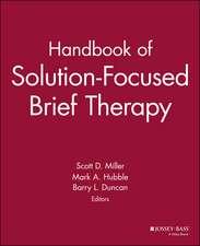 Handbook of Solution–Focused Brief Therapy