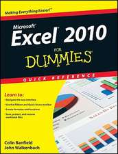 Excel 2010 for Dummies Quick Reference:  How Nonprofits Raise Visibility and Money Through Smart Communications