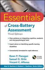 Essentials of Cross–Battery Assessment