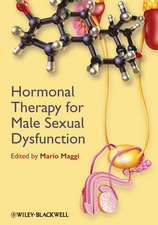 Hormonal Therapy for Male Sexual Dysfunction