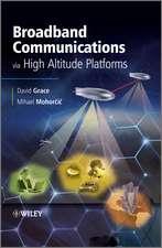 Broadband Communications via High Altitude Platforms