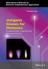 Inorganic Glasses for Photonics: Fundamentals, Engineering, and Applications