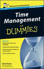 Time Management For Dummies – UK