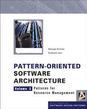 Pattern–Oriented Software Architecture: Patterns for Resource Management