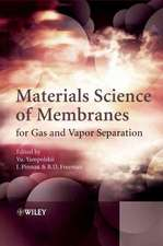 Materials Science of Membranes for Gas and Vapor Separation