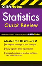CliffsNotes Statistics Quick Review, 2nd Edition