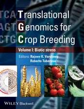 Translational Genomics for Crop Breeding, Volume 1:  Biotic Stress