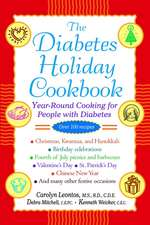 The Diabetes Holiday Cookbook: Year–Round Cooking for People with Diabetes