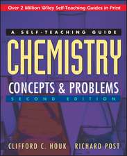 Chemistry: Concepts and Problems: A Self–Teaching Guide