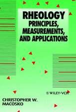 Rheology: Principles, Measurements, and Applications