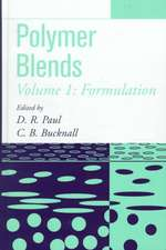 Polymer Blends: Formulation and Performance: Two–Volume Set