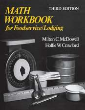 Math Workbook for Foodservice / Lodging