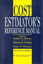 Cost Estimator′s Reference Manual