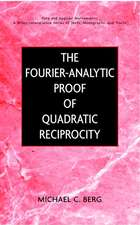 The Fourier–Analytic Proof of Quadratic Reciprocity