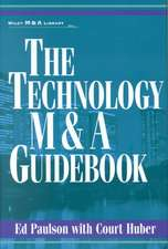 The Technology M&A Guidebook