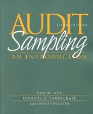 Audit Sampling: An Introduction to Statistical Sampling in Auditing