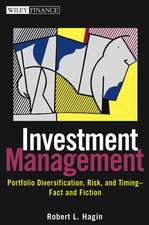 Investment Management: Portfolio Diversification, Risk, and Timing––Fact and Fiction