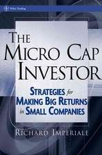 The Micro Cap Investor: Strategies for Making Big Returns in Small Companies