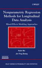 Nonparametric Regression Methods for Longitudinal Data Analysis: Mixed–Effects Modeling Approaches