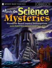 Hands–On Science Mysteries for Grades 3 – 6: Standards–Based Inquiry Investigations