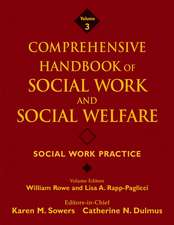 Comprehensive Handbook of Social Work and Social Welfare: Social Work Practice