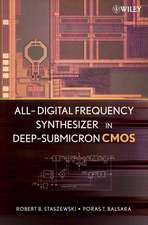 All–Digital Frequency Synthesizer in Deep–Submicron CMOS
